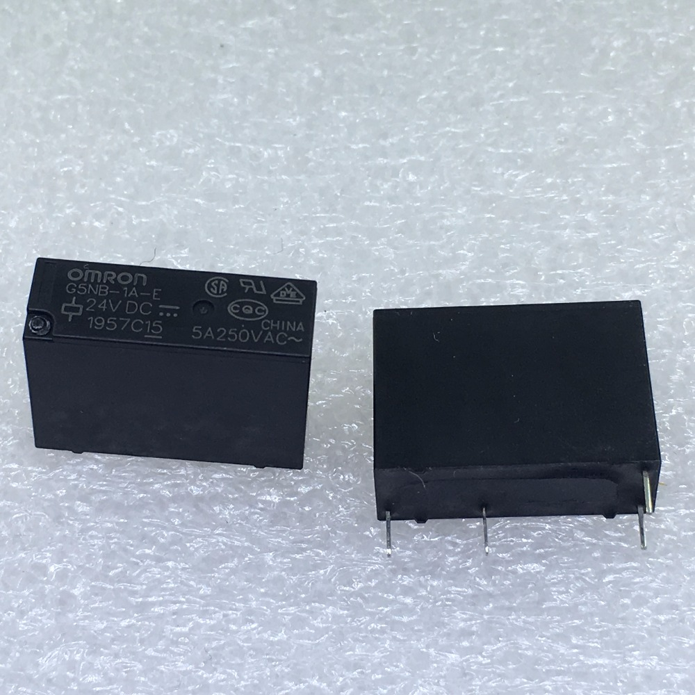 10pcs-50pcs/lot Relay G5NB-1A-E-24VDC G5NB-1A-E G5NB 24v