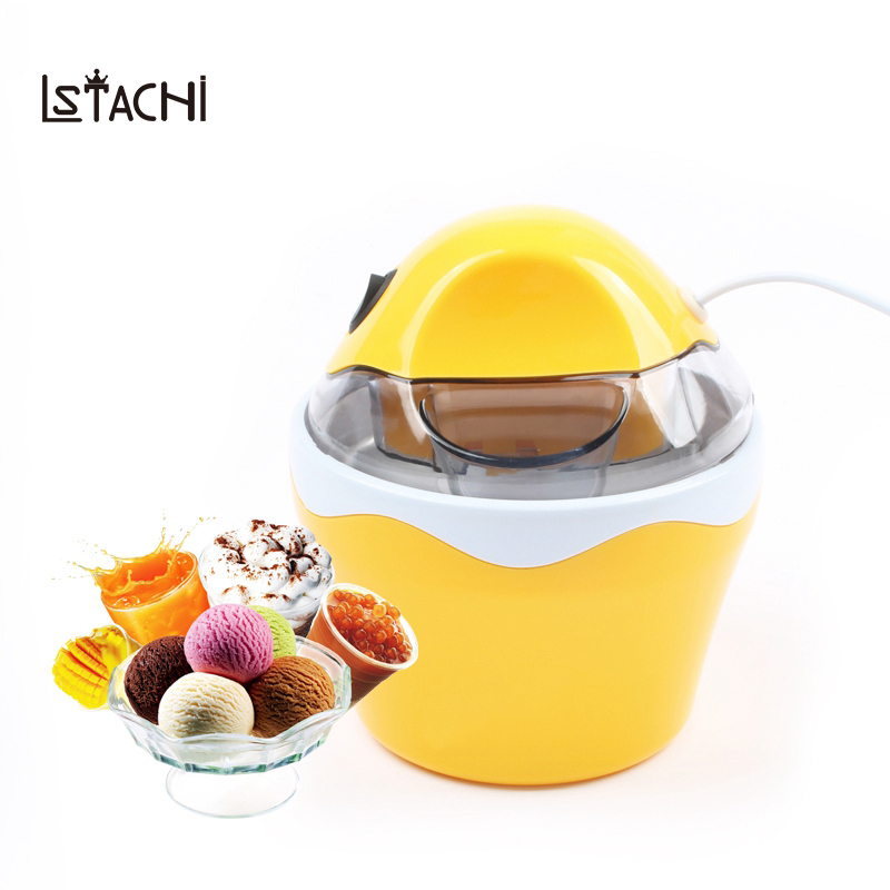 LSTACHi Ice Cream Machine Household 220V Automatic Sorvete Maker Frozen Fruit Dessert Machine Ice cream Maker Slush Machine