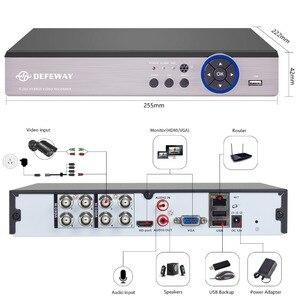 Image 4 - Defeway 1200tvl 720 pのhd屋外監視セキュリティカメラシステム8チャンネル1080N hdmi cctv dvrキット8ch ahdカメラセット