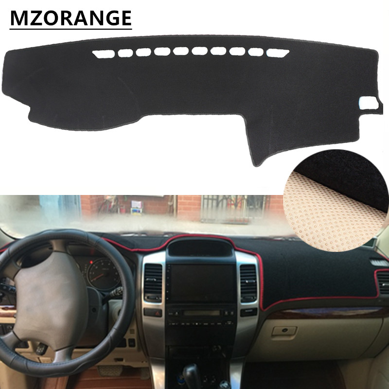 Dashboard Cover For Toyota Land Cruiser Prado Lexus GX470 J120 2003 - 2009 Dash Mat Dashmat Sun Shade Dash Board Cover Carpet