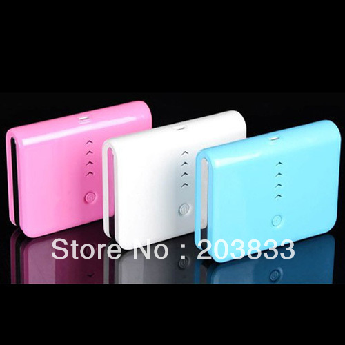 2 Usb Port 20000mAh Power Bank portable charger External Battery with 4 entertaining diversions