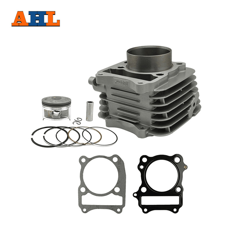 AHL Motorcycle Air Cylinder Block & Piston kit & Gasket kit for SUZUKI <font><b>DR</b></font> <font><b>200</b></font> SE DF <font><b>200</b></font> 96-09 VANVAN200 VAN VAN <font><b>200</b></font> image