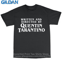 Hot 2017 FashionRandom T Shirts Quentin Tarantino Tribute  Men'S Novelty Short O-Neck Tees все цены