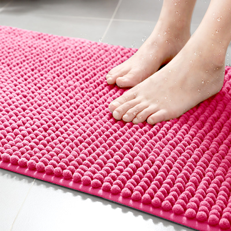 Initiative Non Slip Bath Mat With Suction Cups Bathroom Kitchen Door Floor Tub Shower Safety Mats Anti-bacteria Professional With Drain For Fast Shipping Bath Mats Bathroom Products
