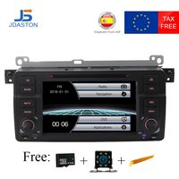 JDASTON 1 Din Car DVD player Car multimedia For BMW E46 M3 MG ZT Rover 75 GPS Navigation Car Radio Stereo Audio USB FM Canbus SD