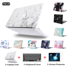 MOSISO Laptop Case For Apple MacBook Air Pro Retina 11 12 13 15 Hard Cover new macbook + Keyboard