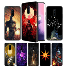 Praise the Sun Dark Souls Soft Black Silicone Case Cover for OnePlus 6 6T 7 Pro 5G Ultra-thin TPU Phone Back Protective