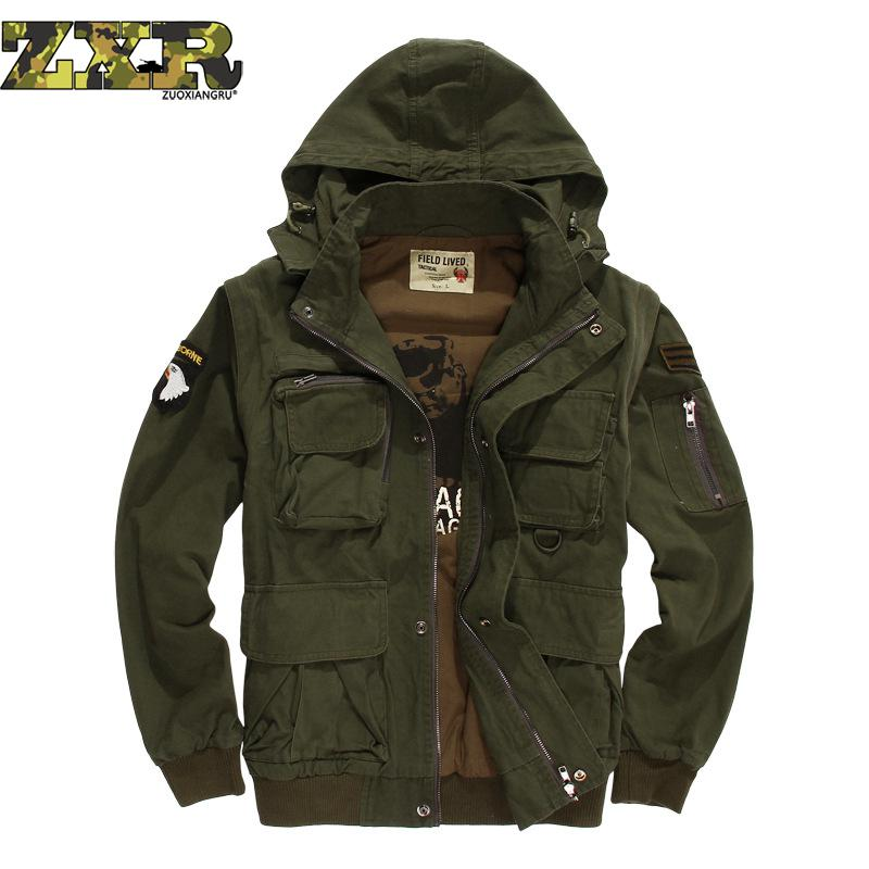 Warm Outdoor Special Mens Tactical Jacket Military Fan Costume Airborne Division Flying Jacket Male High Quality Hiking Jacket n flying fan meeting bangkok