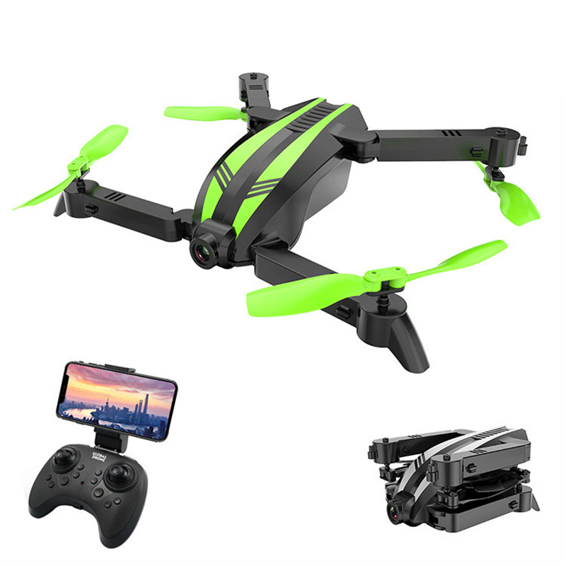 Global Drone Quadcopter Aerial Remote-Camera Toy Folding Resistant Aircraf Child 720P