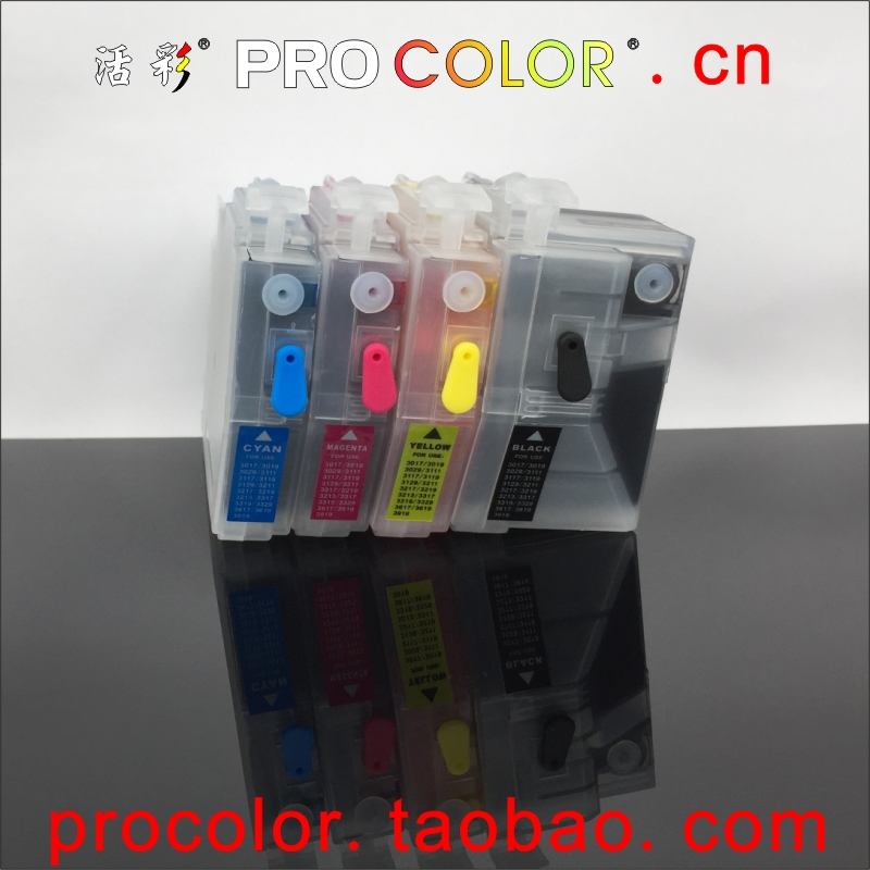 Full LC3619 XL LC3617 refill ink cartridge for BROTHER MFC J3930DW J3530DW J2330DW J2730DW MFC-J2330DW inkjet printer with chips декор kerama marazzi гамма nt a54 2882 tea зеленый 8 5x28 5