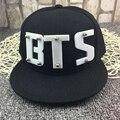 Kpop Bts bangtan niños casquillo de la manera Jimin Jin Jung kook J esperanza V Rapmonster Suga harajuku sombrero gorras de Béisbol