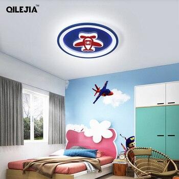 Led Chandelier Lights For Children Bedroom Study Room Remote Control Modern Lighting Lamp Plafonnier Avize Lampadari Luminaria