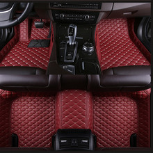 14 colors Car floor mats for Land Rover Discovery 3 4 5 freelander 2 Sport Range Rover Sport Evoque car styling carpet  green myfmat custom leather new car floor mats for discovery 3 discovery 4 discovery 5 freelander 2 discover sport anti slip thick hot