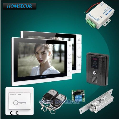 HOMSECUR 9 Hands-free Video Door Entry Phone Call System with Ultra-large Screen MonitorHOMSECUR 9 Hands-free Video Door Entry Phone Call System with Ultra-large Screen Monitor