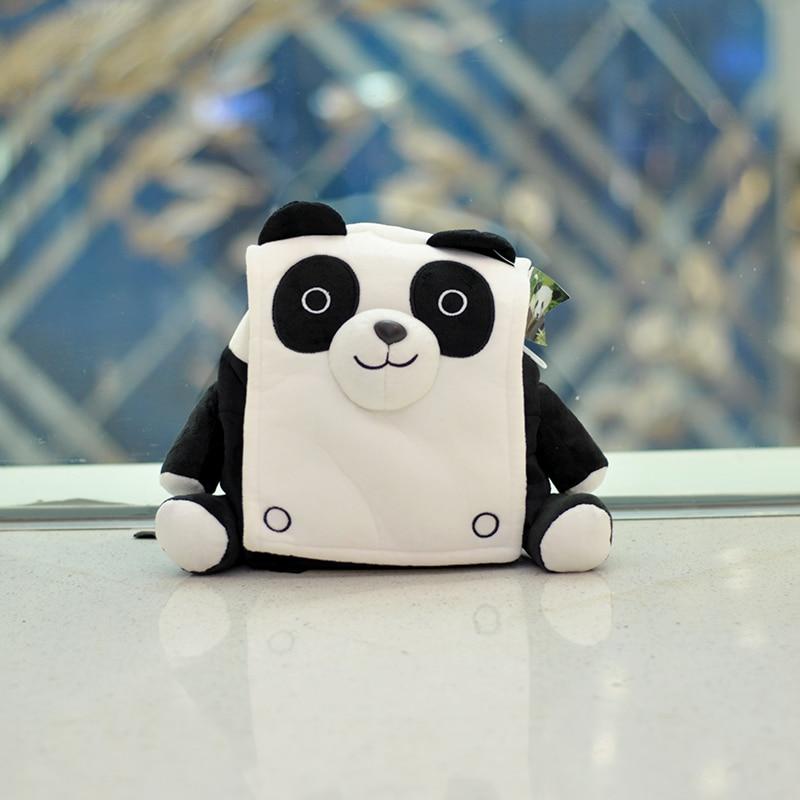 Großhandel 3D Cartoon Kindergarten Rucksack Kinder Tasche Mini Pelz Taschen Für Kinder Tasche Mädchen Jungen Nettes Kind Kinder Rucksäcke Tiere Panda