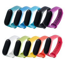 for Xiaomi Mi Band 3 Smart Bracelet Diamond For 4 Wrist Strap Wristband Replace Silicone Miband