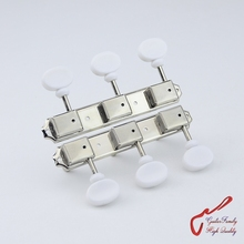 1Set GuitarFamily  3R-3L On Plate Vintage Style Tuners  Guitar  Machine Heads   Nickel  MADE IN KOREA