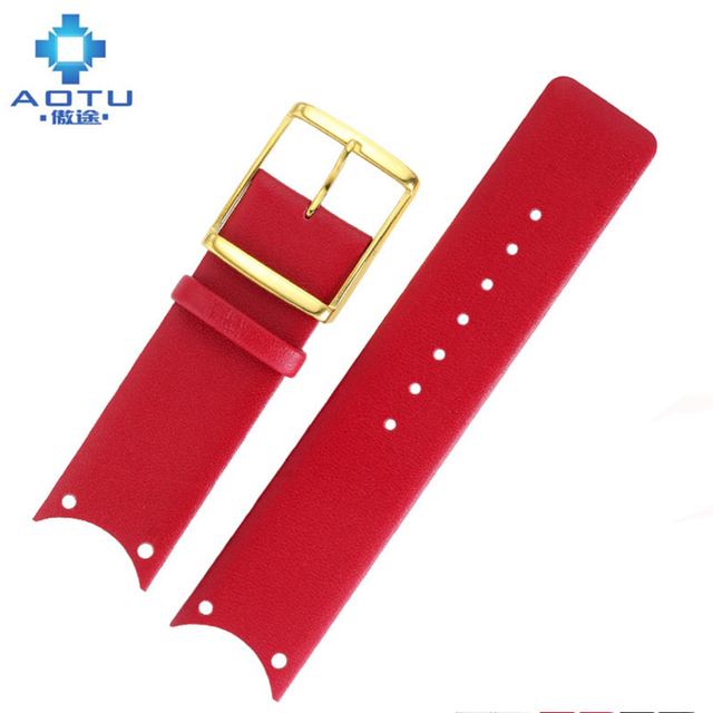 22mm Genuine Leather Watch Straps For Calvin Klein KOH23100 23307 23101 KOV231 Women Leather Watchbands For CK Watch Bracelet