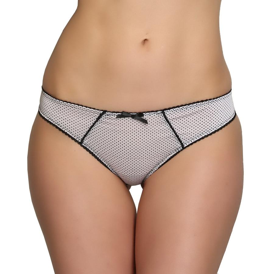 Girls Cute G String Lovely Polka Dot Panties Cotton -9372