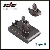 החלפת כלי חשמל סוללה 22.2 V 2.0Ah Eleoption 2000 mah Li-Ion סוג B דייסון DC31/DC34/DC35/DC44/DC 45