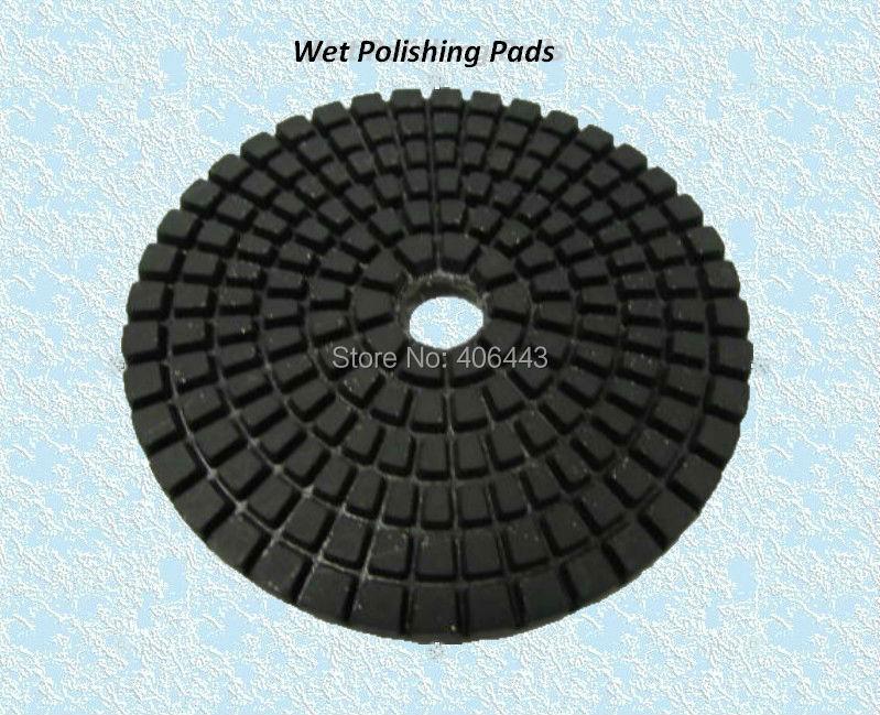 100mm Diamond Soft Polishing Pads för våtpolering av marmor och - Slipande verktyg - Foto 1