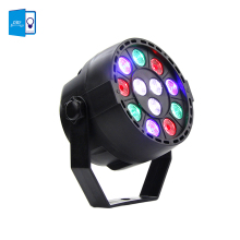 [DBF]Professional DMX512 Disco Lamp stage light 12LEDs Par light luces discoteca laser projector dmx Controller for DJ Party KTV