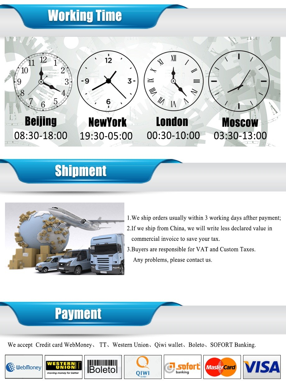 Time+shipment+payment