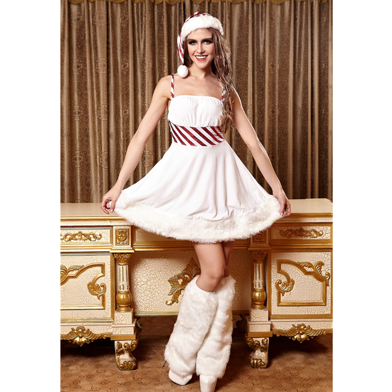 2015 New Snow White Christmas Party Costumes Snow White Cute Christmas Dress Cosplay Costume Adult Party Outfits L70927