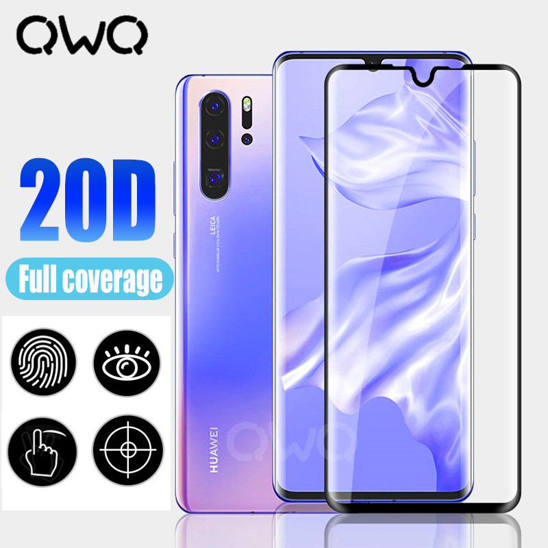 20D Screen Protector Tempered Glass For Huawei P30 Pro P20 Lite Pro Mate 10 Lite Pro Protective Film For P Smart 2019 HD Glass