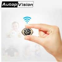 Cámara DVR de seguridad con WiFi magnético portátil Super Mini dorada AI-338G para ciclismo y grabación de Yoga