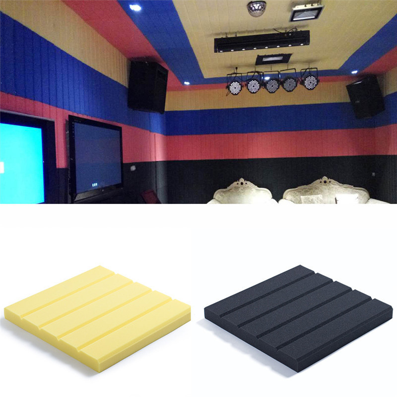 1pcs soundproofing foam acoustic panels foamtreatment - Bedroom studio acoustic treatment ...
