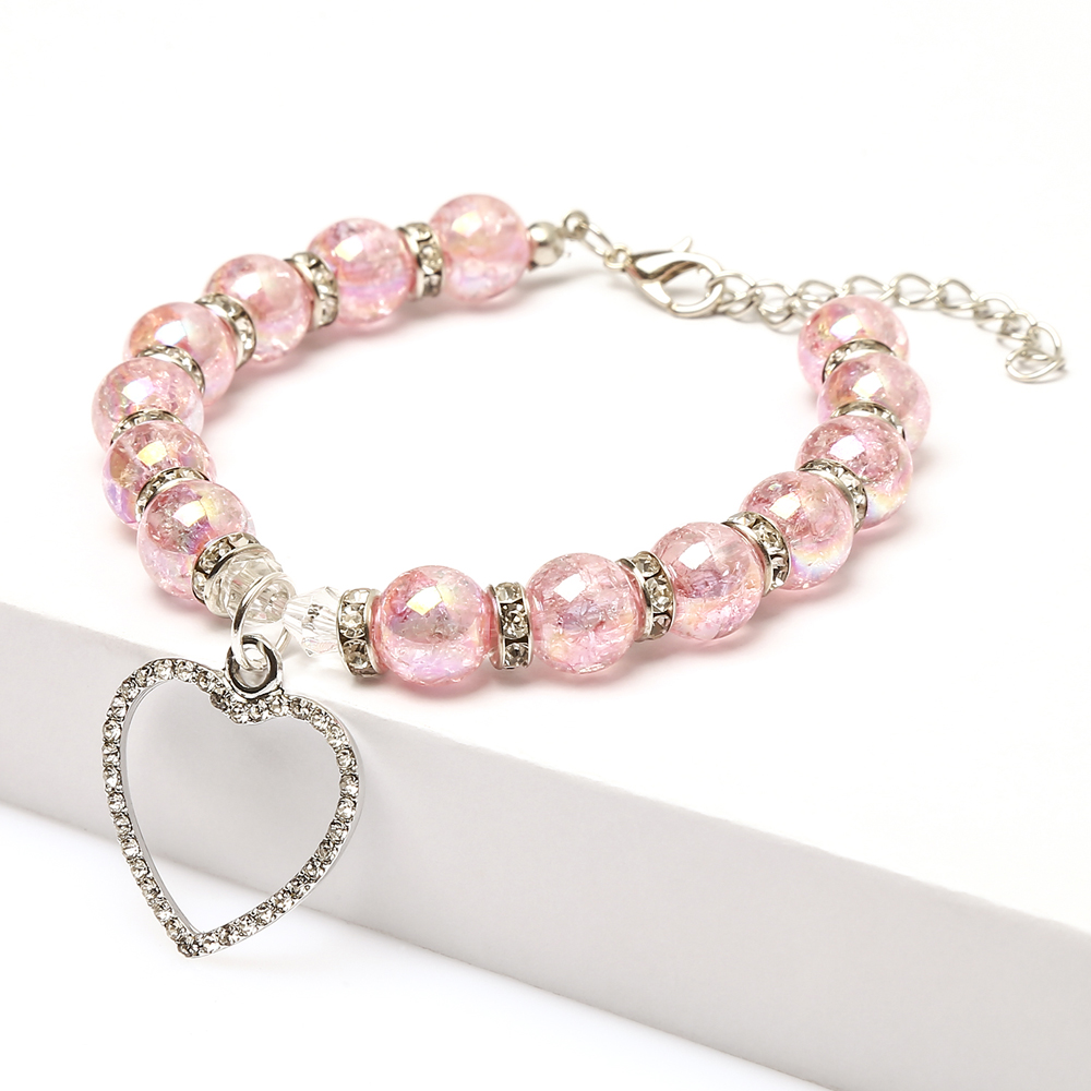 Aslt Fashion Pet Puppy Dog Cat Piggy Pearl Necklace Pet Accessories Love Pendantpets Dogs Cats Collar & Ldads Jewelry