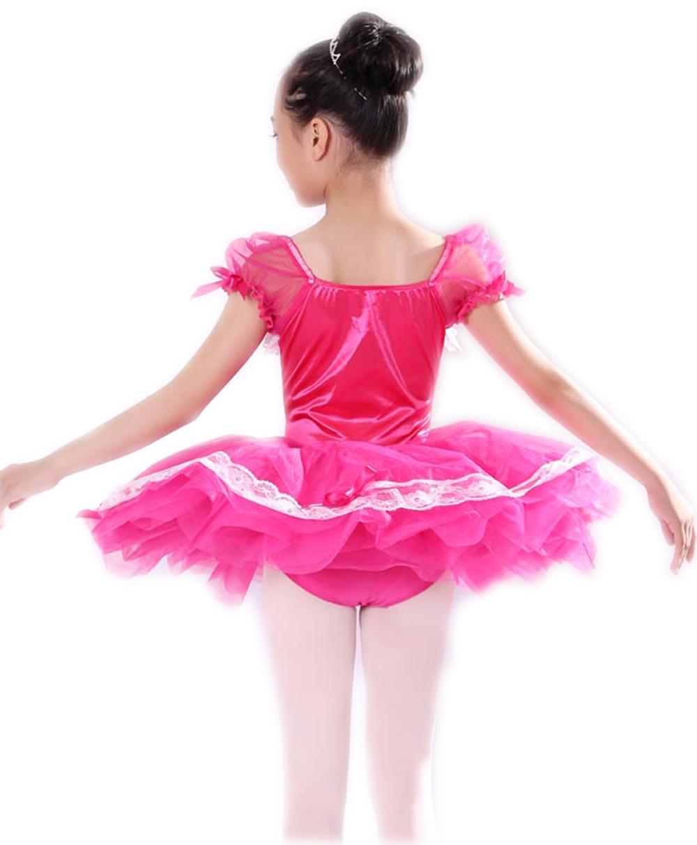 Ballet Stage & Dance Wear 2018 Gymnastics Leotard Dance Costumes Tutu Dress Kids Professional Dancewear For Girls Justaucorps De Danse Pour Les Femmes