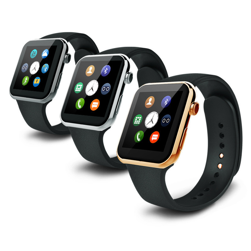 Symrun A9 Bluetooth Smart Watch Wrist font b Smartwatch b font Heart Rate Monitoring for Apple