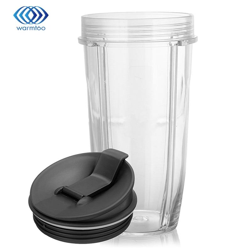2016 Durable Quality 18oz Juicer Blender Extractor Cup + Sip Seal Lids For Nutribullet Ninja