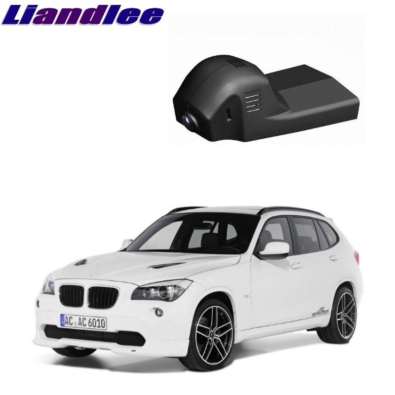 Liandlee For BMW X1 E84 F48 2009~2016 Car Black Box WiFi DVR Dash Camera Driving Video Recorder liandlee for bmw 2 series f22 f45 2014 2018 car black box wifi dvr dash camera driving video recorder