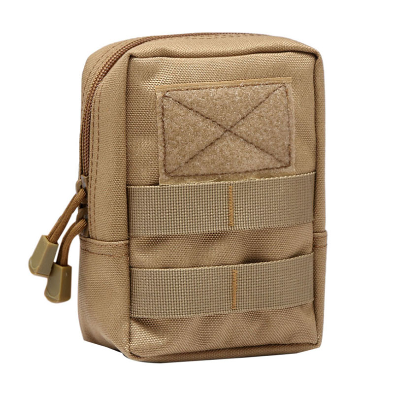 New Military Tactical 1000D Outdoor Waist Bag Multifunctional EDC Molle Pouch Tool Zipper Waist Pack Accessory