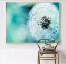 Beautiful Art Dandelion Decorative Paintings Modular Picture Wall Canvas Painting for Living Room No Framed