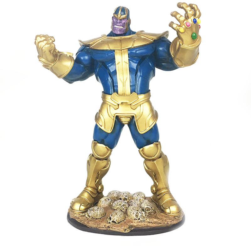 Movie Marvel Avengers Infinity War Thanos Resin Statue Figure Model Toys for Collection Gift