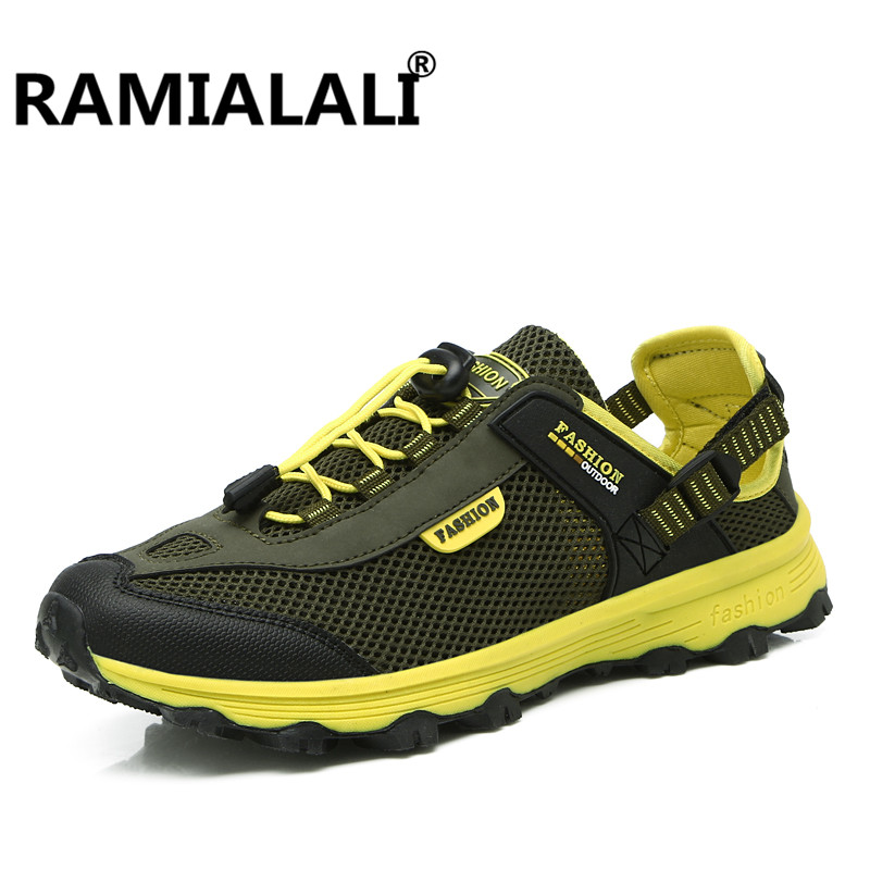 a75a17e1cae1 Men New Aqua Water Shoes Beach Sandals Women Lightweight Sport Sneakers  Breathable Mesh Shoes Outdoor-in Upstream Shoes from Sports   Entertainment  on ...