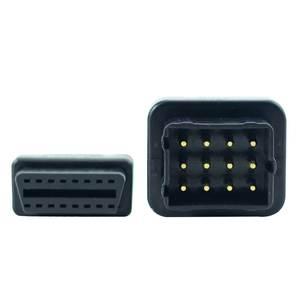 Image 5 - OBD2 Lkw Diagnose Kabel Für GAZ 12 Pin Diagnose Kabel zu OBD 2 16Pin Stecker kann Arbeit mit TCS CDP PRO DLC Adapter
