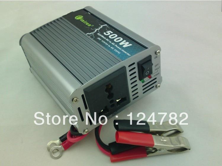 Car inverter motor inverter 12 24 220 v to 220 v 500W power supply switch w
