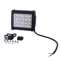 GERUITE Brand 72W Led Work Light Bar Off Road Truck Tractor Boating Hunting ATV 4WD Driving