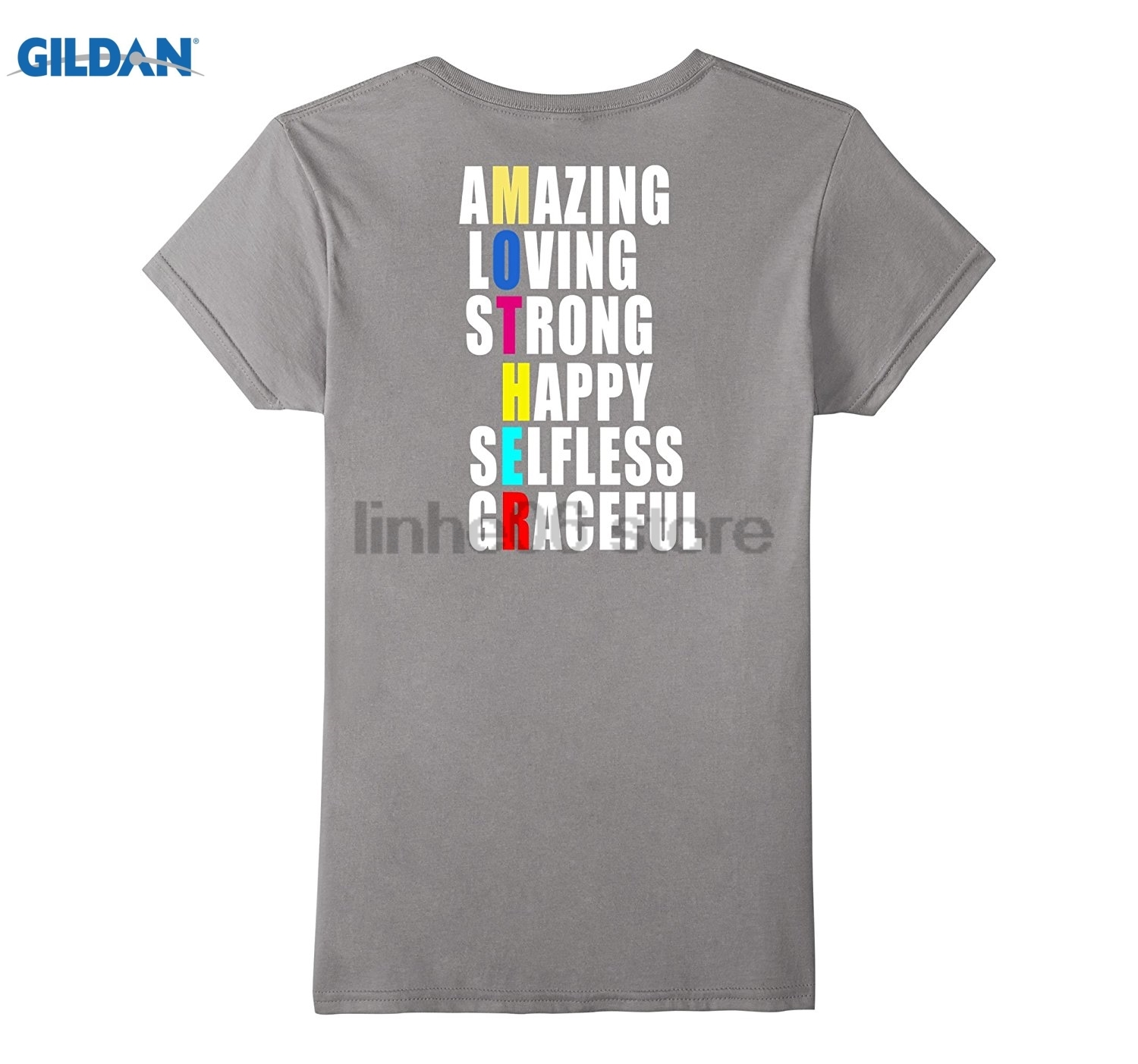 GILDAN Happy mothers day t-shirt gift, Mother day 2017 shirt tee Private custom T-shirts Hot Womens T-shirt