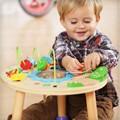 Baby play escritorio ensartar cuentas + niños xilófono educación temprana buen regalo para los niños