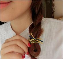 Handmade Knitting elastic hairbands 30pcs