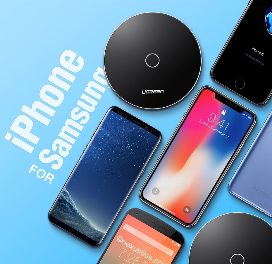 Smart Wireless Charger Pad 5