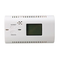 NEW Co Carbon Monoxide Detector LCD Display Alarm Poisoning Gas Fire Voice Warning High Sensitive Home