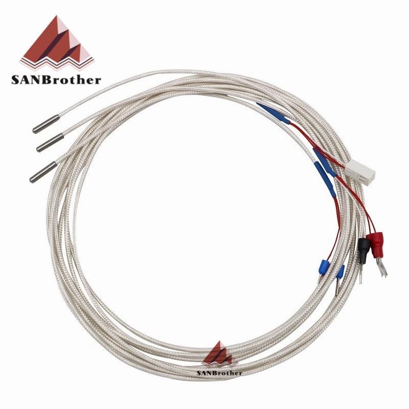 German Chip 3D Printer Part Ultimaker 2 UM2+ Extended PT100 A Sensor Thermocouple Sensor M3*15 Hot e