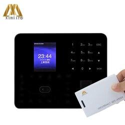 Reloj de tiempo ZK PF1000 con asistencia de tarjeta RFID nube P2P biométrica asistencia facial Control de acceso de huellas dactilares